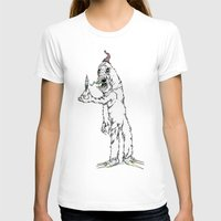 yeti T-shirts featuring Yeti by Czartoonist