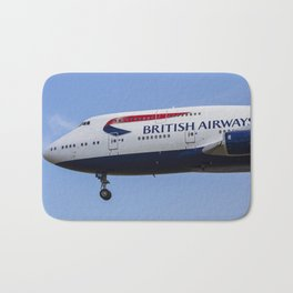 British Airways Boeing 747 Bath Mat