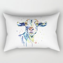 The Happy Goat Rectangular Pillow