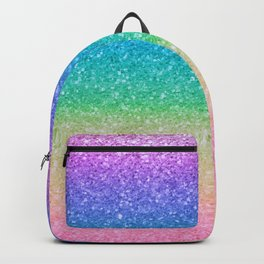 Rainbow Glitter Backpack