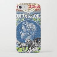 cuba iPhone & iPod Cases featuring VINTAGE CUBA by RIGOLEONART