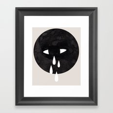 weep Framed Art Print