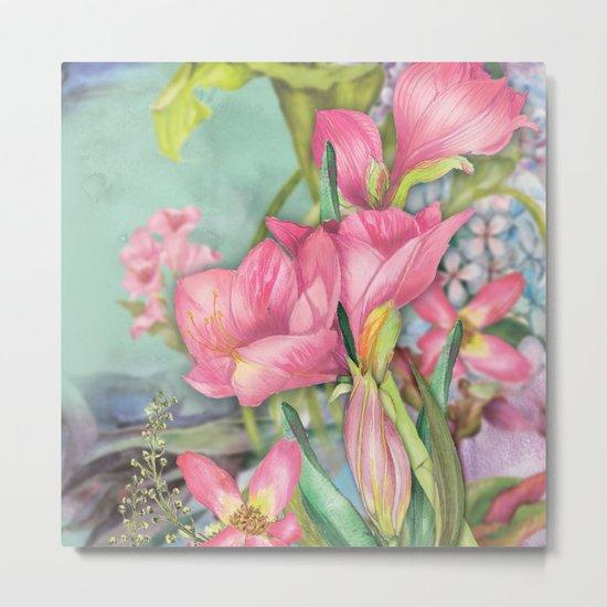 Macro Flower #21 Metal Print