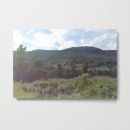 Mountain-Tranquility Metal Print
