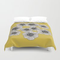 doodle Duvet Covers featuring DOODLE by Isabella Salamone