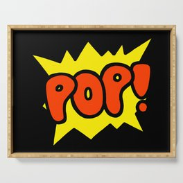 'Pop!' Explosion Serving Tray