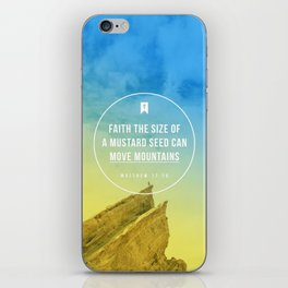 Matthew 17:20 iPhone Skin