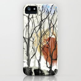 Dreams of a Dying Forest iPhone Case