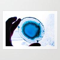 I am Blue Art Print