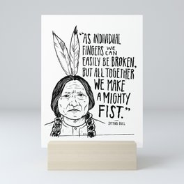 Sitting Bull Mini Art Print