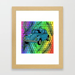 Hippie Mood Framed Art Print
