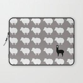 Don't be a sheep, Be a Llama Laptop Sleeve