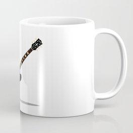 Black Semi Solid Guitar Coffee Mug