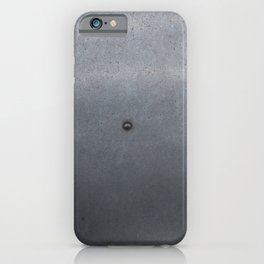 Grunge metal background or texture with scratches and cracks iPhone Case