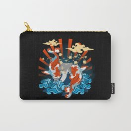 Two Big Koi Fish Carry-All Pouch