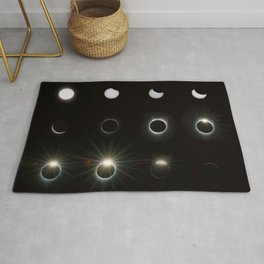 Solar Eclipse 2017 3 Rug