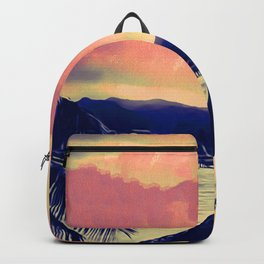 Tempest Island (Warmer Version) Backpack