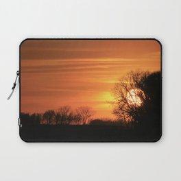 Golden Evening Sunset Laptop Sleeve