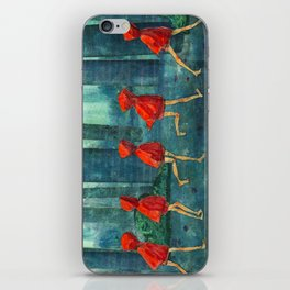 Five Little Red Riding Hoods 1 iPhone Skin