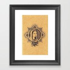 The Magdalene Framed Art Print