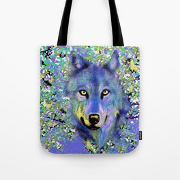 WOLF IN THE GARDEN Tote Bag