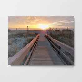 Good Morning Tybee Island Metal Print