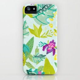 Tropical Retreat iPhone Case