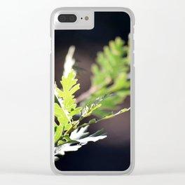 Oak Branch Clear iPhone Case