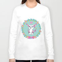 digimon Long Sleeve T-shirts featuring Girly Gatomon by hannahroset