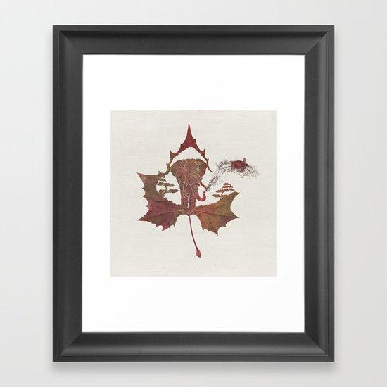Favourite Game Framed Art Print