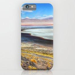 Laguna Colorada in Bolivia iPhone Case