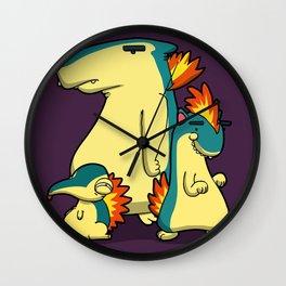 Pokémon - Number 155, 156 & 157 Wall Clock