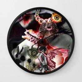 Lucifer Ascending Wall Clock