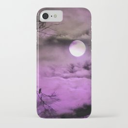 Deep Purple iPhone Case