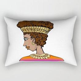 Nubian Beauty Rectangular Pillow