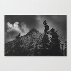 December Mountain Canvas Print