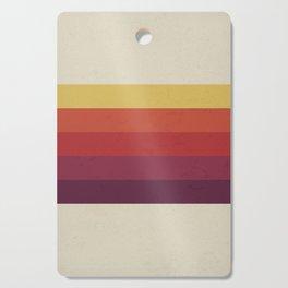 Retro Video Cassette Color Palette Cutting Board