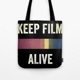Keep Film Alive Tote Bag