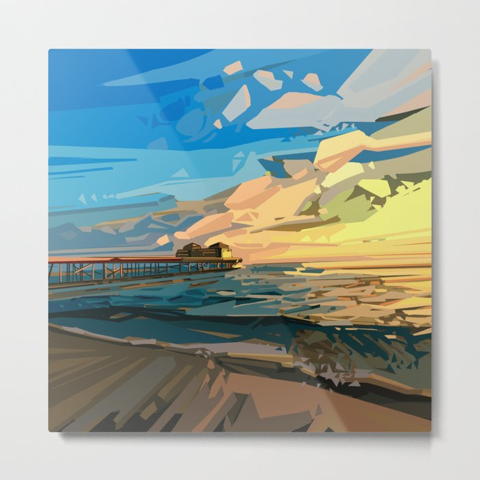 summer beach 1 Metal Print