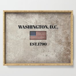 Washington, D.C. Serving Tray