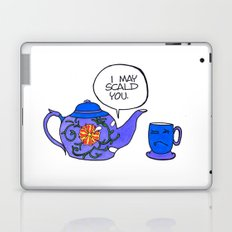 Tea Issues - Tissues Laptop & iPad Skin