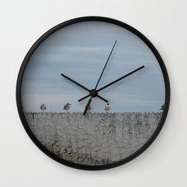 Never A Wall Flower Wall Clock
