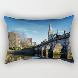 Shrewsbury Bridge Rectangular Pillow