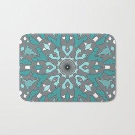 Abstract ethnic pattern. Bath Mat