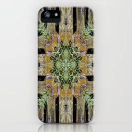 Patterned Lavender - Lavandula iPhone Case