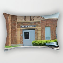 Gesu School Loyola Hall Rectangular Pillow