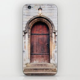 Though Closed Doors iPhone Skin