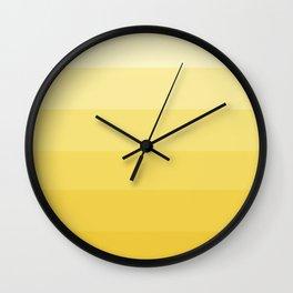 Lemondrop Ombre Wall Clock