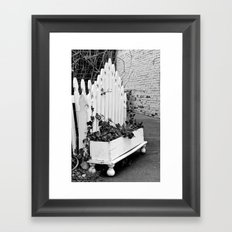 Does your garden Grow Framed Art Print