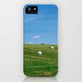 White Bales iPhone Case